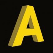 Объемная буква с лицевой подсветкой (высота 20 см)