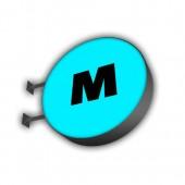 Панель кронштейн (круглая форма)